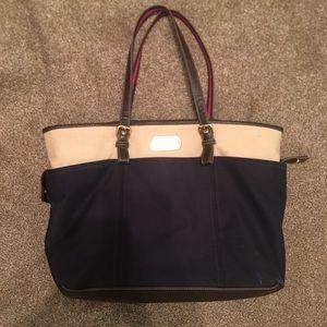 Tommy Hilfiger tote shoulder bag purse